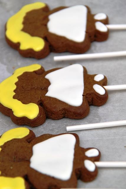 עוגיות ג'ינג'ר מקושטות7