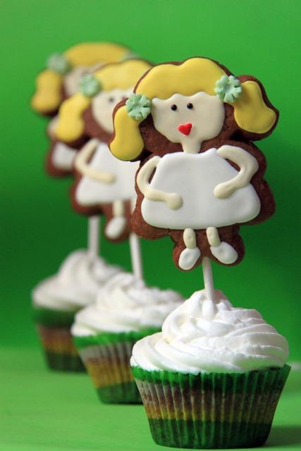 עוגיות ג'ינג'ר מעוטרות