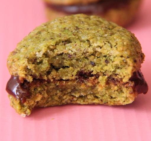 עוגיות לפסח: עוגיות פיסטוק ושוקולד5