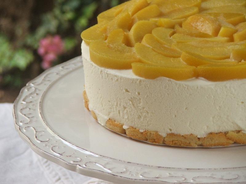 עוגת גבינה ושוקולד לבן מהירת הכנה