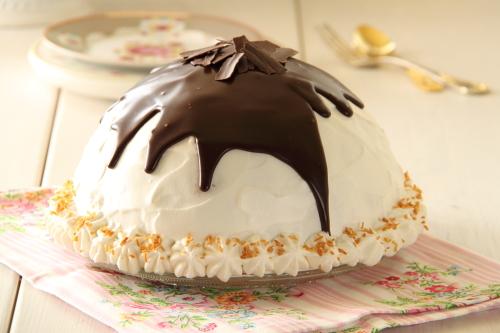 עוגת איגלו – עוגת גבינה, אייריש קרים ושוקולד