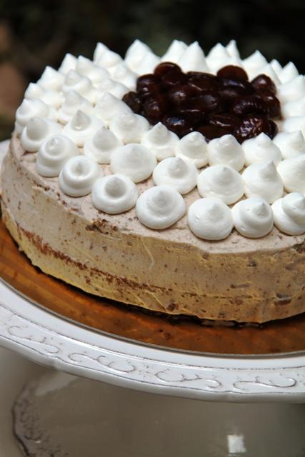 עוגת קרם ערמונים9