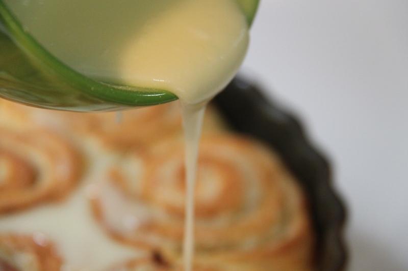 עוגת שושנים דמוית שמרים בניחוח תפוזים_10