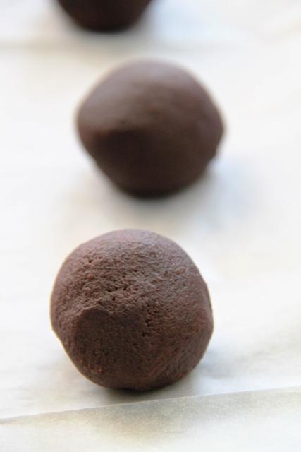 עוגיות שוקולד במלית טופי קרמל וקפה4