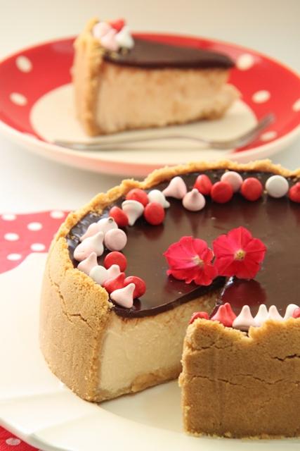 עוגת גבינה, שוקולד ואייריש קרים1