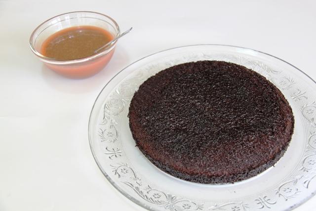 עוגת שוקולד וקרמל מלוח5