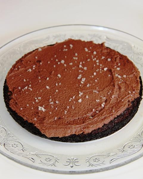 עוגת שוקולד וקרמל מלוח6