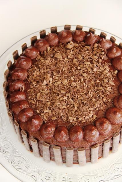 עוגת שוקולד וקרמל מלוח8