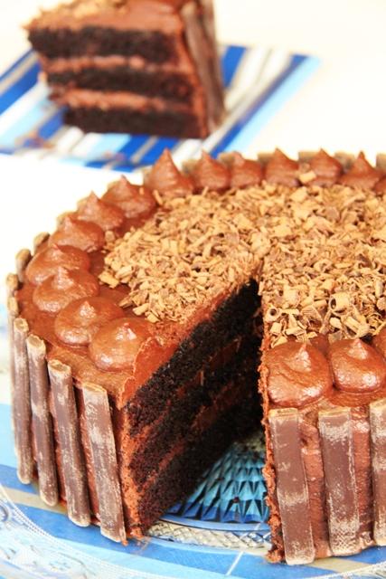 עוגת שוקולד וקרמל מלוח9