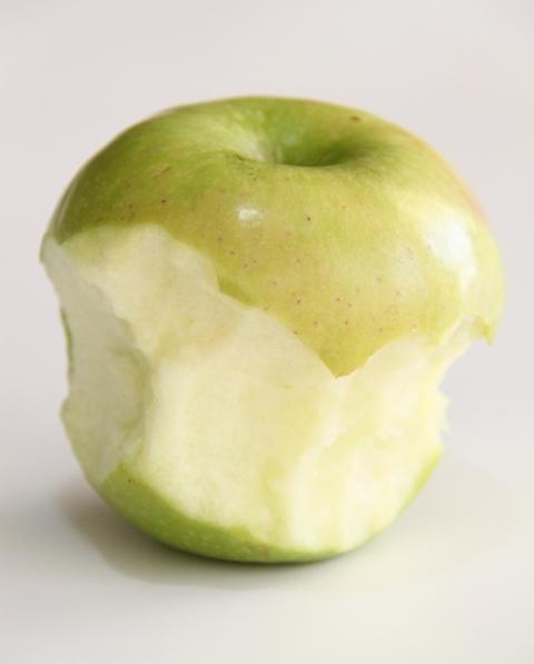 ככה אוכלים תפוח
