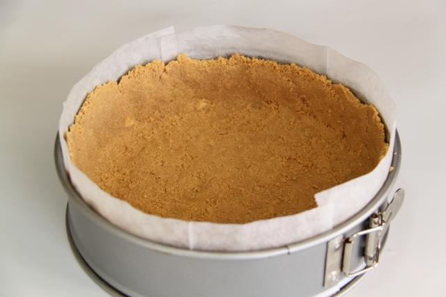 עוגת גבינה, תפוחים ופקאן3