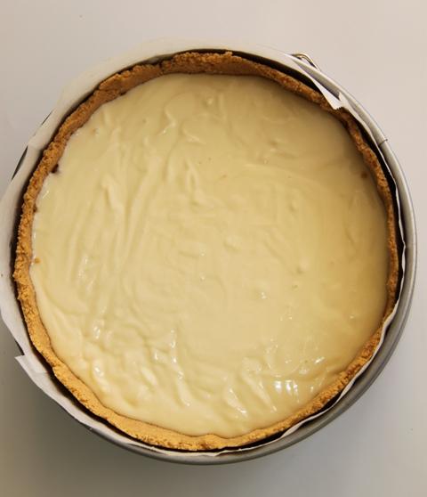 עוגת גבינה, תפוחים ופקאן7