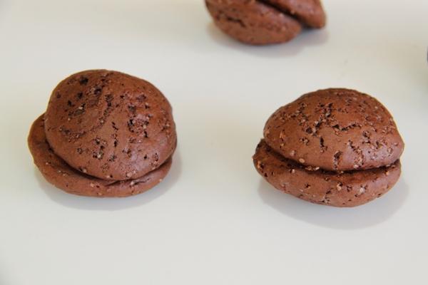 וופי פאי שוקולד וקרם מרשמלו8