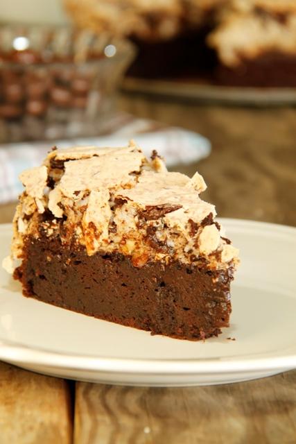 עוגת שוקולד ומרנג לוז1