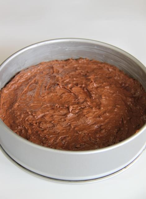 עוגת שוקולד ומרנג אגוזי לוז7