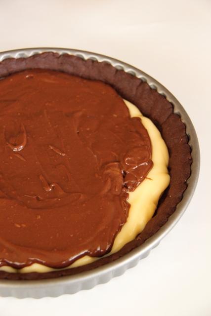 פאי בננה, שוקולד ווניל8