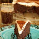 עוגת שוקולד, דובדבנים ומוס מסקרפונה10