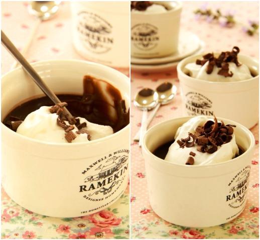 Pot de crème – קעריות קרם שוקולד