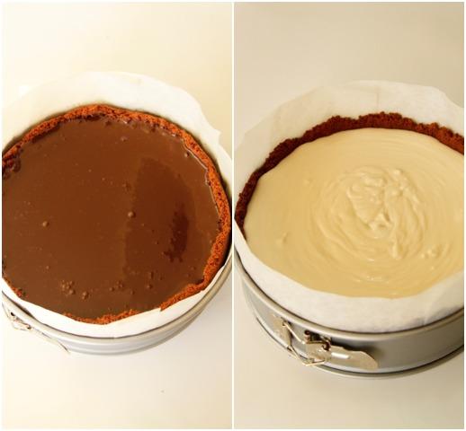 עוגת גבינה, חלבה וקפה