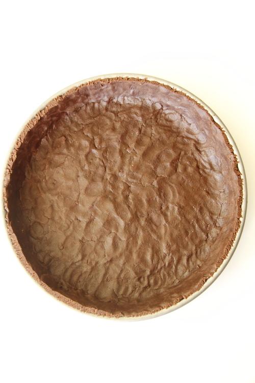 טארט שוקולד ופיסטוק