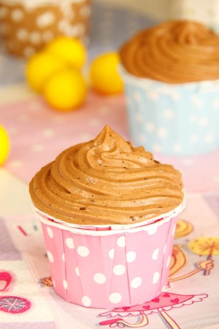 קאפקייקס שוקולד ובננה