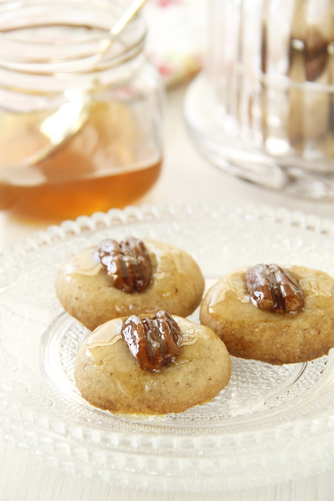 עוגיות דבש ופקאן