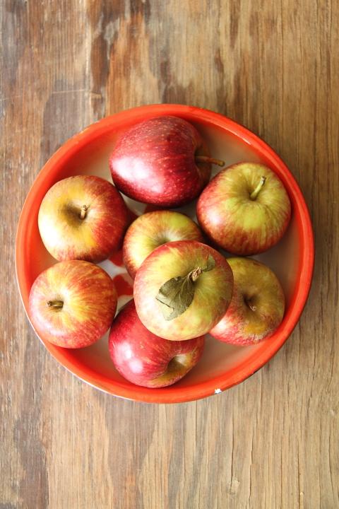 קאפקייקס תפוחים בקרמל