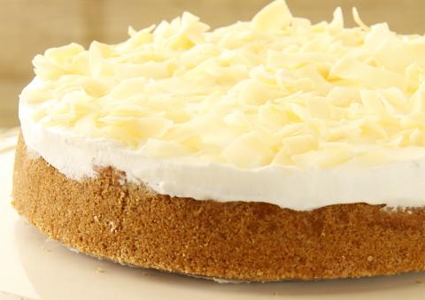 עוגת גבינה וקוקוס