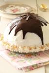 עוגת איגלו - עוגת גבינה ושוקולד