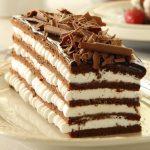 עוגת שכבות שוקולד וקצפת כשרה לפסח