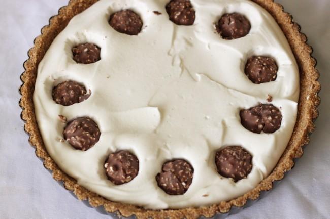 פאי גבינה עם פררו רושה ושוקולד