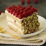 עוגת פטל, מסקרפונה ופיסטוק