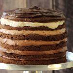 מגדל מסקרפונה, קפה ושוקולד (עוגת יום ההולדת שלי!)