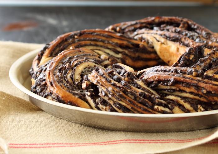 עוגת שוקולד שמרים