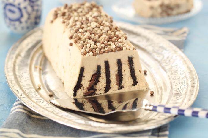 עוגת ביסקוויטים מוקה ומרשמלו