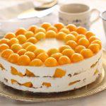 פרוייקט עוגות ביסקוויטים: עוגת ביסקוויטים מסקרפונה ומנגו
