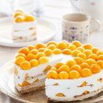 עוגת ביסקוויטים מסקרפונה ומנגו