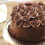 רולדת שוקולד ודובדבני אמרנה - עוגת יום הולדת 40 שלי!
