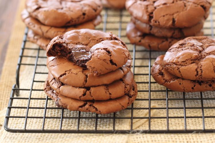 עוגיות שוקולד פאדג'