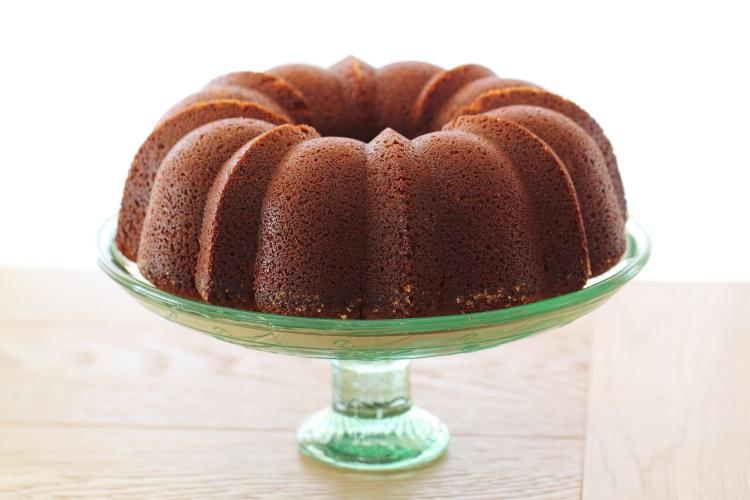 עוגת דבש עם קרמל קפה