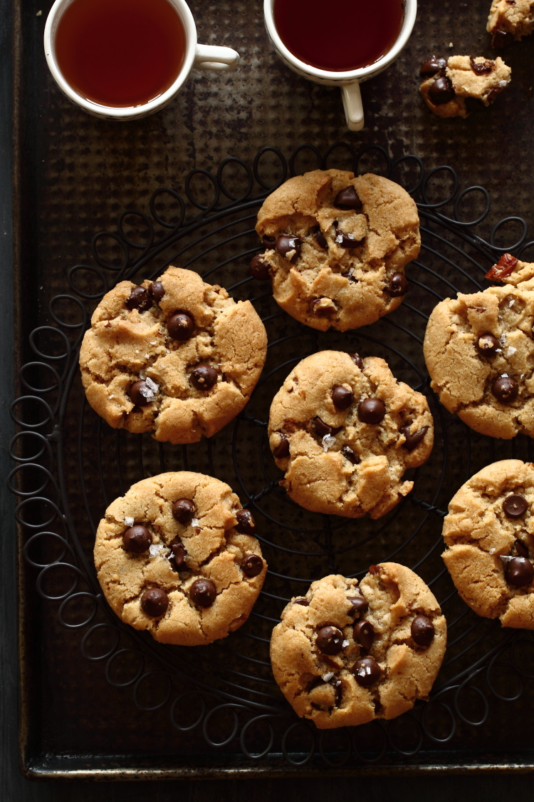עוגיות שוקו ציפס טבעוניות