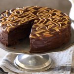 flourless chocolate peanut butter cake