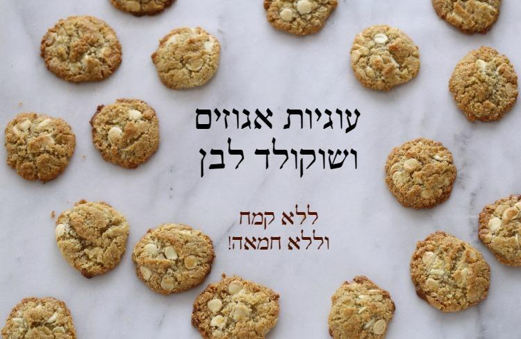 flourless macademia cookies