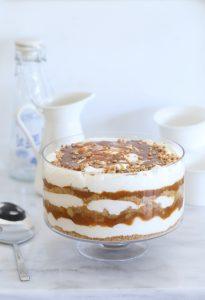 apple caramel trifle