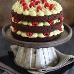 עוגת שכבות בראוני, פיסטוק ופטל - עוגת יום ההולדת שלי