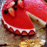 עוגת גבינה ותותים