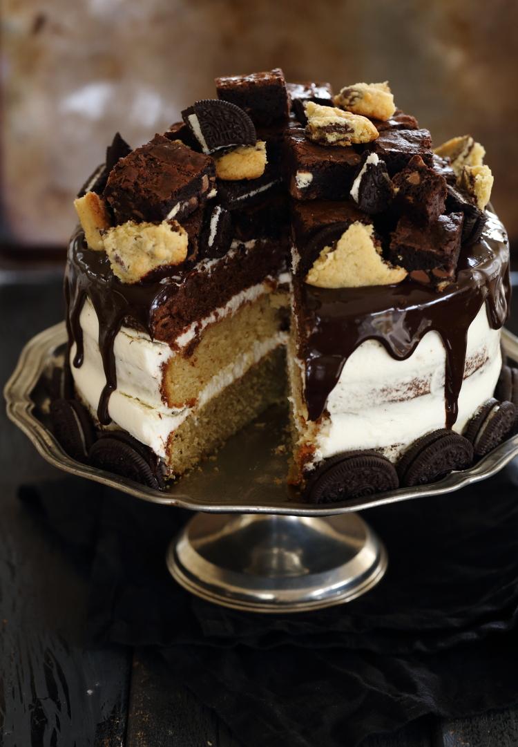 עוגת שכבות מטורפת