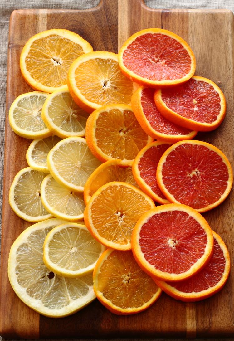 עוגת תפוזים הפוכה