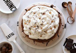 mont blanc chocolate pavlov