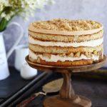 עוגת שכבות גבינה ותפוחים7